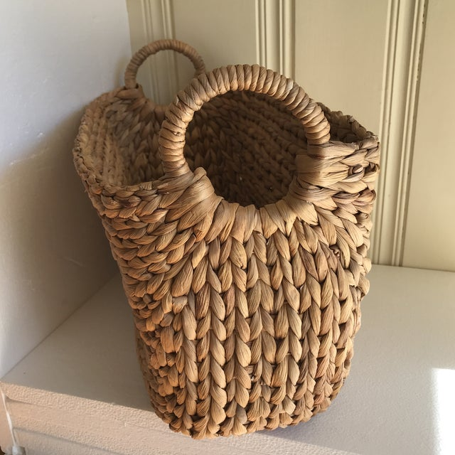 Boho Seagrass Rope Basket - Image 3 of 8