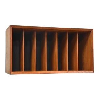 Poul Cadovius Danish Teak Record Cabinet For Sale