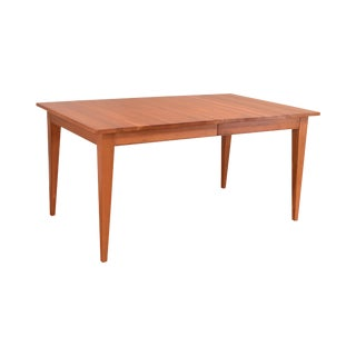 Ethan Allen American Artisan Collection Cherry Dining Table With Leaf For Sale