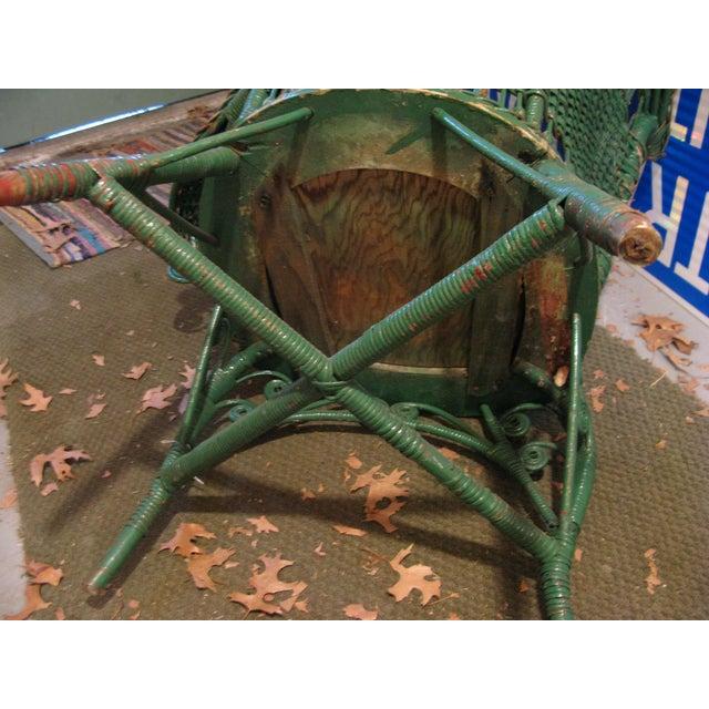 Art Deco Wicker Chair - Image 5 of 9