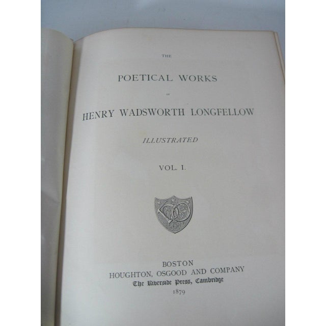 Late 19th Century The Poetical Works of Henry Wadsworth Longfellow Illustrated For Sale - Image 5 of 13