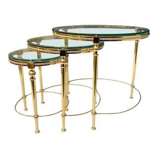 Maison Baguès Nesting Tables - Set of 3 For Sale