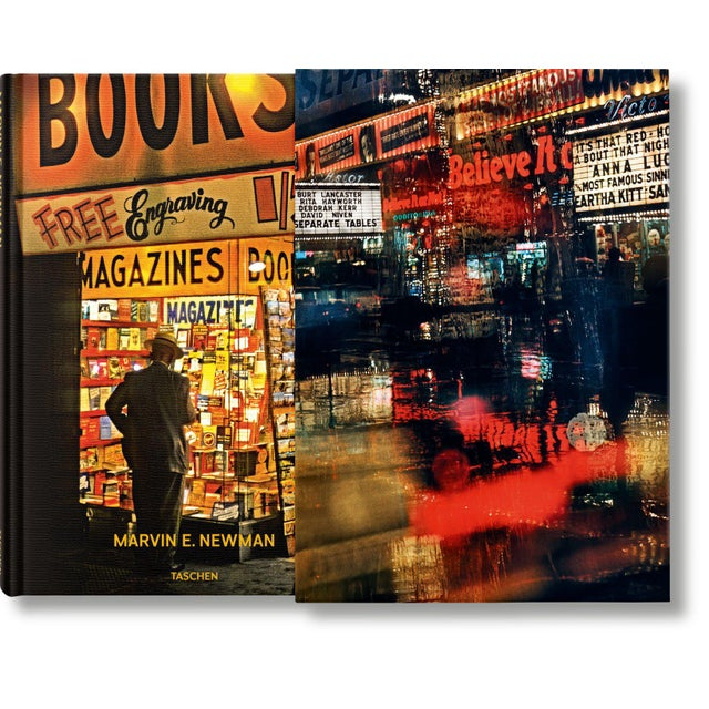 """Black TASCHEN Books, """"Marvin E. Newman"""" Photography Collection, Limited Edition, Signed For Sale - Image 8 of 8"""