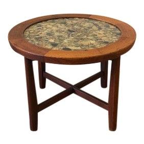 Round Arvid Haerem for Dola Mobelfabrik Resin Table For Sale