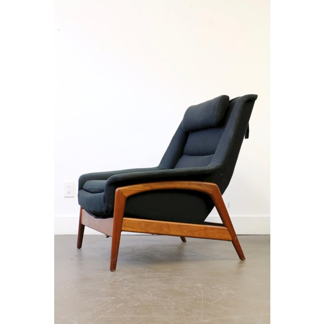 Folke Ohlsson for Dux Lounge Chair & Ottoman For Sale In Dallas - Image 6 of 13