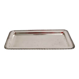 Sheffield Silver Oblong Tray For Sale