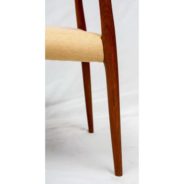 Set of 4 Niels Moller Dining Chairs For Sale - Image 5 of 9