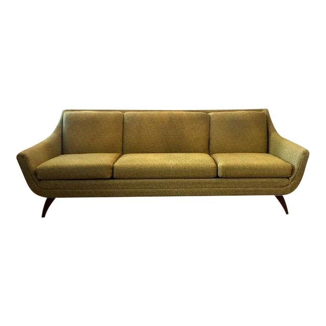 Admirable Mid Century Bassett Prestige Gondola Sofa Pdpeps Interior Chair Design Pdpepsorg