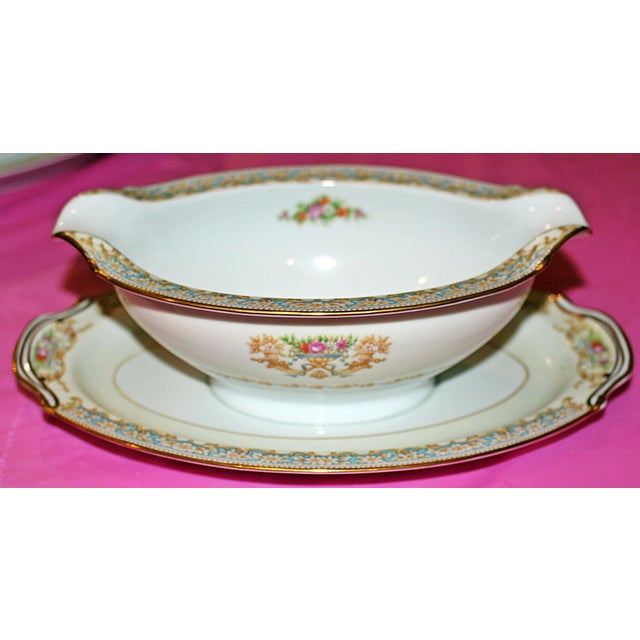 Noritake Dinner Service for 12 - Image 5 of 9