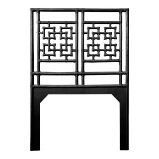Palm Springs Headboard Twin - Black For Sale