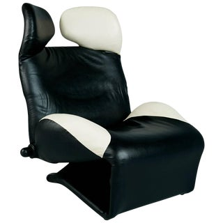 "1980s Toshiyuki Kita ""Wink"" Lounge Chair for Cassina, Italy For Sale"