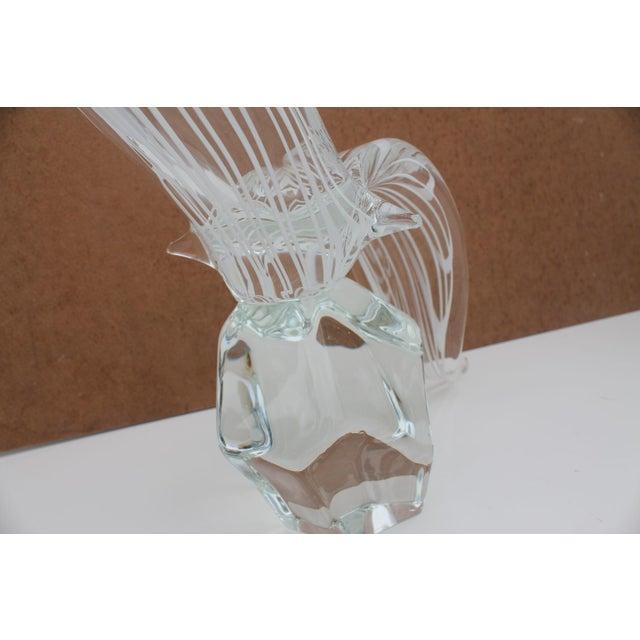 Vintage Art Murano Glass Bird Figure Sculpture By Yanilk L. For Sale In Miami - Image 6 of 8