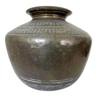 Huge Antique 'Anthemion' Persian Pot