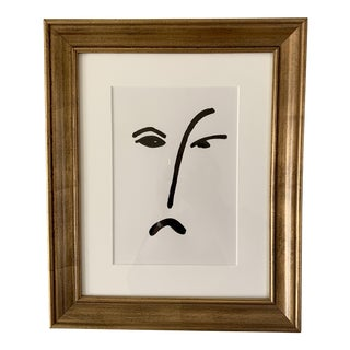 Abstract Face Drawing For Sale