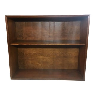 1950s Mid-Century Modern George Nelson for Herman Miller Walnut Bookshelf/Cabinet For Sale