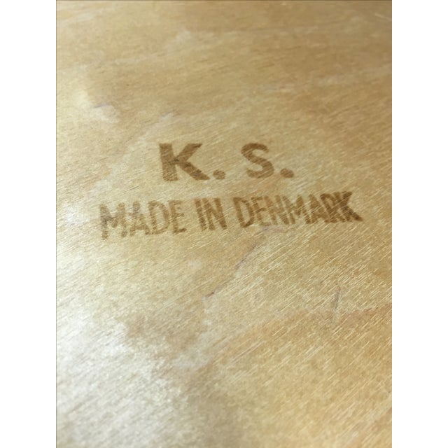 Kai Kristiansen Dining Chairs - Set of 4 - Image 8 of 10