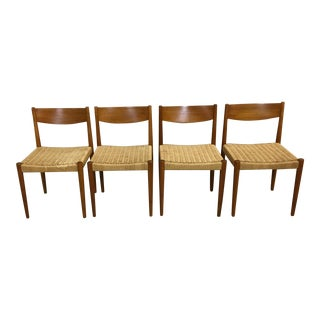 Poul Volther Danish Modern Chairs - Set of 4