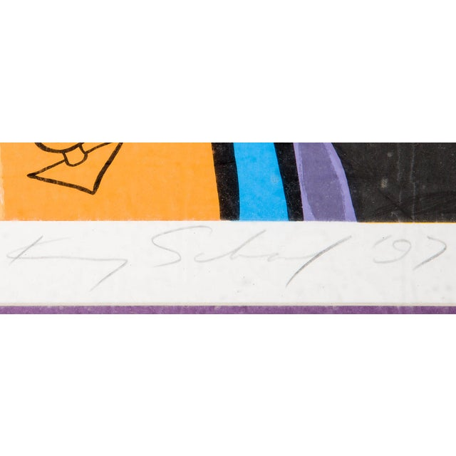 "Contemporary Kenny Scharf ""Flintstones"" For Sale - Image 3 of 3"