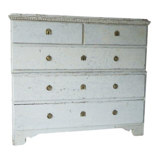 L. 18th C. Swedish Gustavian Chest For Sale