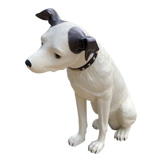 Vintage Rca Nipper Dog Figurine For Sale