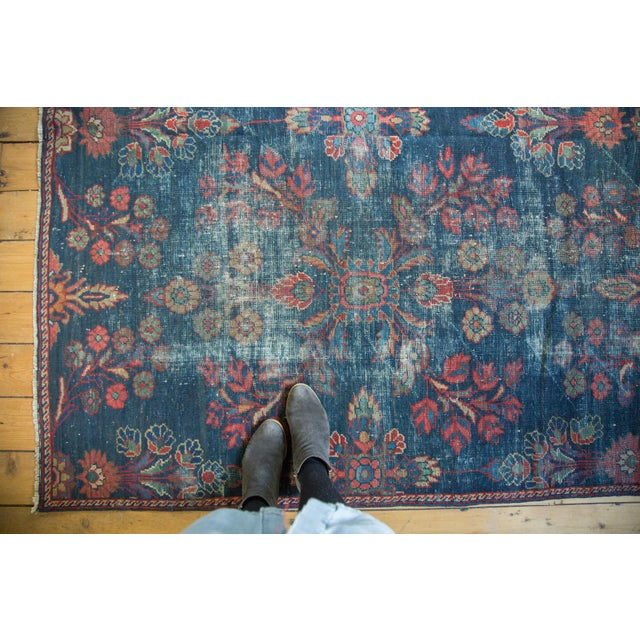 "Vintage Mahal Square Carpet - 6'4"" x 7'7"" - Image 2 of 10"