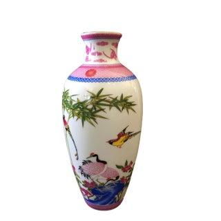 Small Famille Rose Porcelain Vase