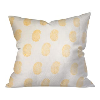 Indian Block Print Euro Pillow