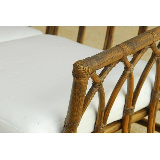 Contemporary McGuire Organic Modern Bamboo Rattan Sofa For Sale - Image 3 of 13