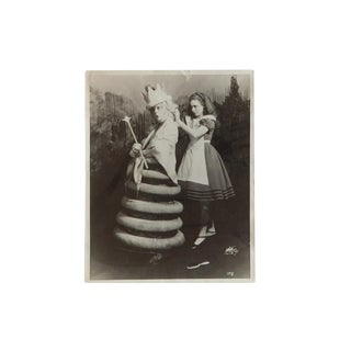 Vintage Original Photograph Alice in Wonderland For Sale
