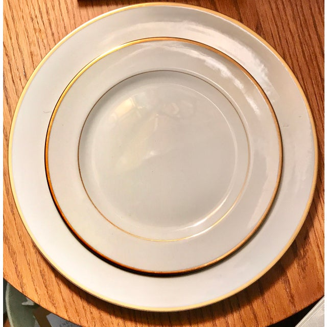 Mid-Century 1940s Noritake Goldcroft China - Set of 25 For Sale - Image 10 of 11