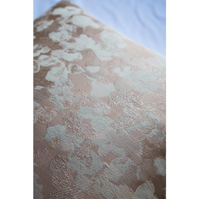 Modern Iridescent Rose Gold Pillow For Sale - Image 3 of 8
