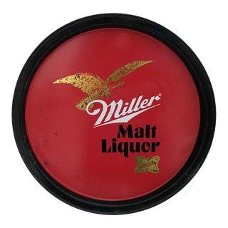 Vintage Miller Malt Liquor Tray For Sale