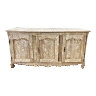 18th Century French Provençal Bleached Enfilade For Sale