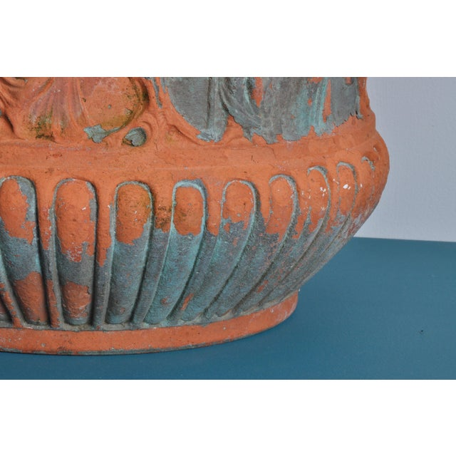 Early 20th Century High Relief Italian Terrecotta, Circa 1900 For Sale - Image 5 of 9