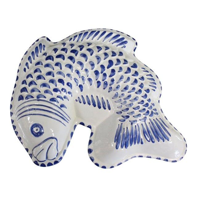 Decorative Ceramic Fish Mold/Platter For Sale