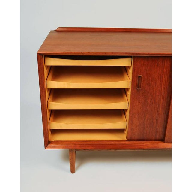 Danish Modern Arne Vodder Danish Modern Teak Cabinet for Sibast For Sale - Image 3 of 7