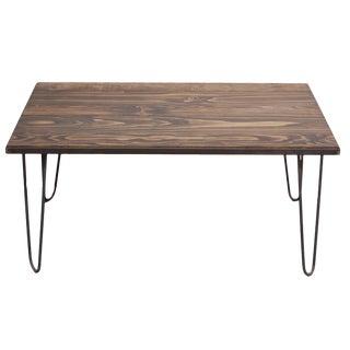 Dark Walnut Stain Coffee Table