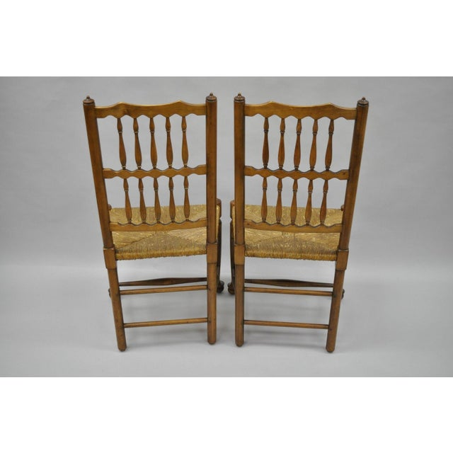 L & J G Stickley Fayetteville Queen Anne Cherry Dining Chairs - Set of 4 - Image 2 of 11