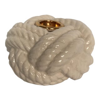 Nautical Porcelain Knot Candle Holder