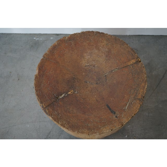 Late 19th Century Primitive Side Table For Sale - Image 5 of 9