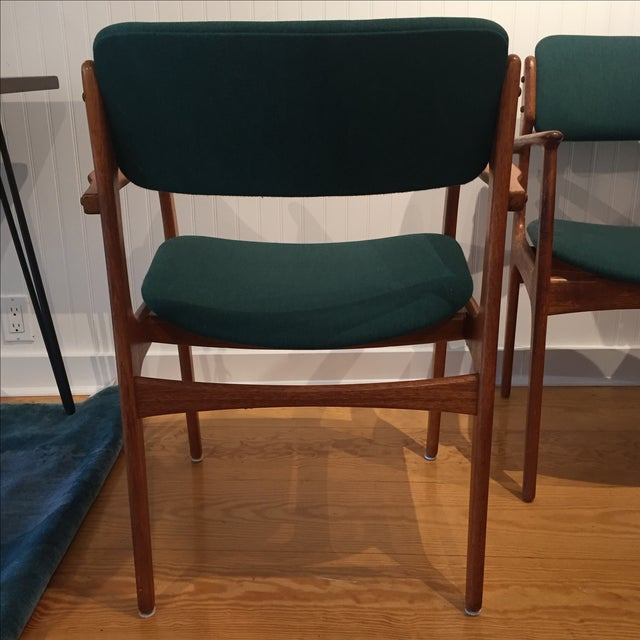 Danish Modern Erik Buch Chairs - Set of Two - Image 4 of 11