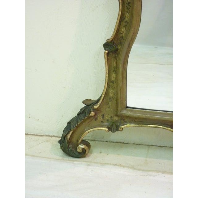 Venetian Painted Mirror - Image 3 of 4