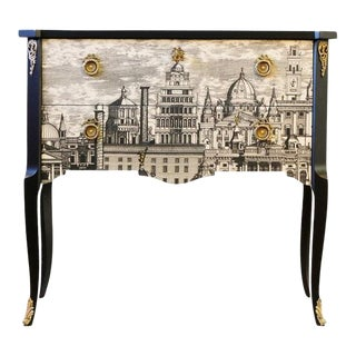 Fornasetti Commode by Gustavian Hauptbyrå, 1960s For Sale