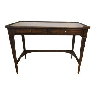 19th Century Traditional Woodbridge Furniture Marseille Writing Table For Sale