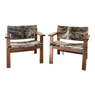 Vintage Oak Armchairs Style of Borge Mogensen - A Pair