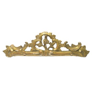Antique French Architectural Pediment