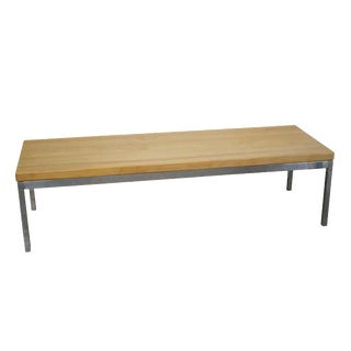 Mid-Century Florence Knoll Style Coffee Table For Sale