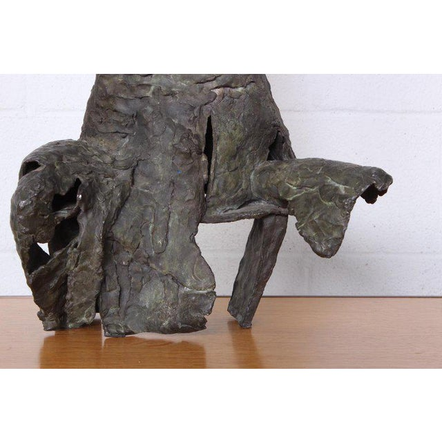 Bronze Sculpture by George Mallett, 1967 For Sale In Dallas - Image 6 of 13