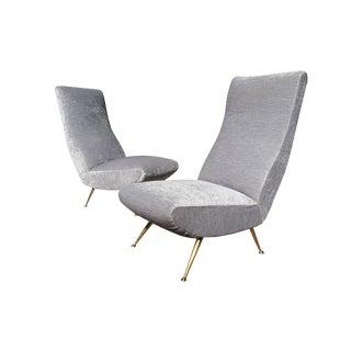 Italian Mid-Century Modern Chairs - A Pair