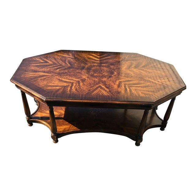 Baker Octagonal Coffee Table - Image 1 of 4